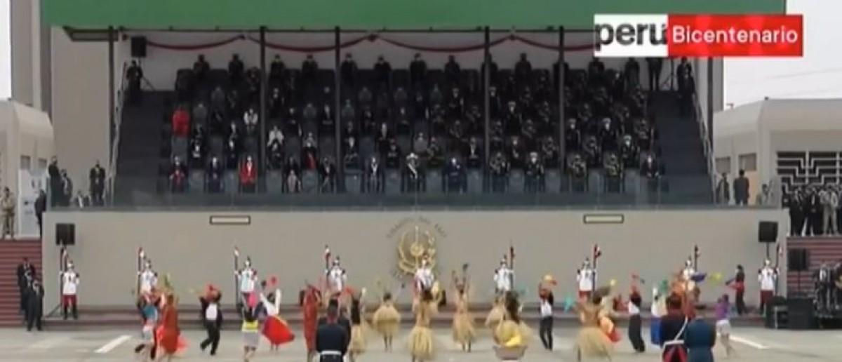 Balet Folclórico del Perú danzó canción representativa de la selva